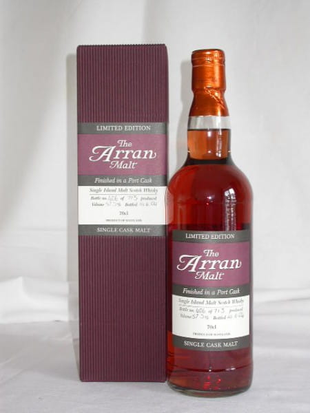Arran 1997/2004 Port Cask Finish No.2 57,5%vol. 0,7l