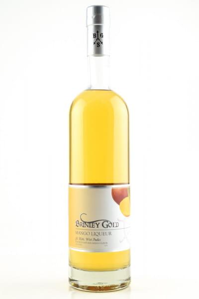 Brinley Gold Mango Liqueur 36%vol. 0,7l
