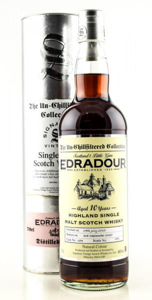 Edradour 10 Jahre 2010/2020 Single Cask #184 Signatory 46%vol. 0,7l