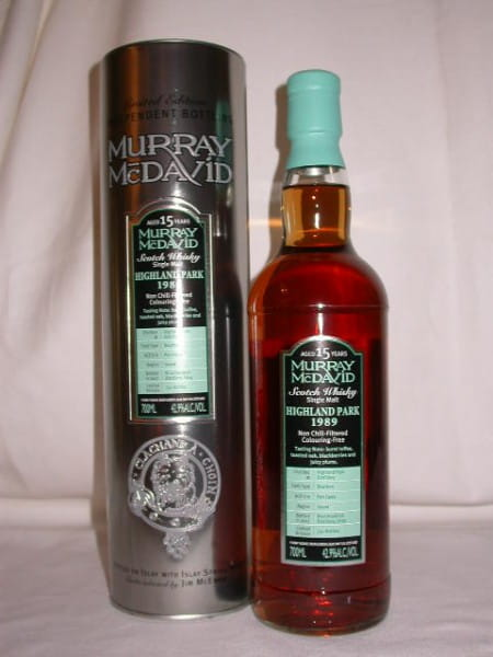 Highland Park 1989/2007 Bourbon/Port Murray McDavid 42,9%vol. 0,7l