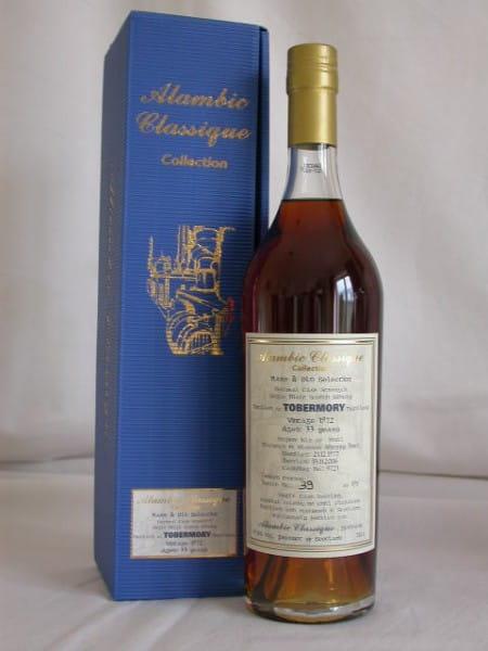Tobermory 1972/2006 Alambic Classique 49,6%vol. 0,7l