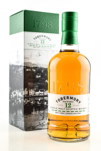 Tobermory 12 Jahre 46,3%vol. 0,7l