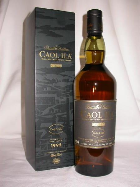 Caol Ila 1995/2007 Distillers Edition 43%vol. 0,7l