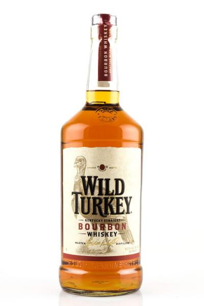 Wild Turkey 81 Proof 40,5%vol. 1,0l