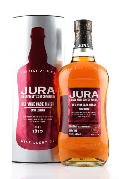 Jura Red Wine Cask Finish 40%vol. 0,7l