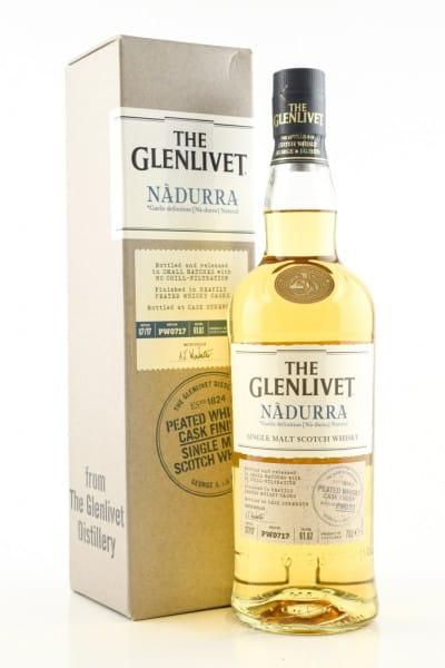Glenlivet Nàdurra Peated Whisky Cask Finish 61,8%vol. 0,7l