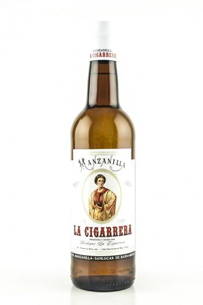La Cigarrera Manzanilla Sherry 15%vol. 0,75l