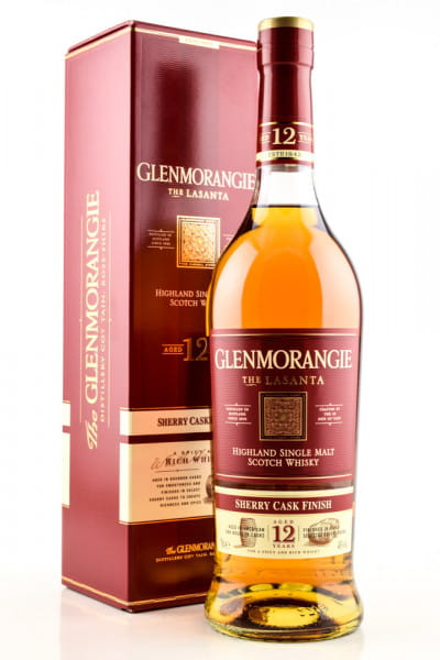 Glenmorangie 12 Jahre The Lasanta 43%vol. 0,7l
