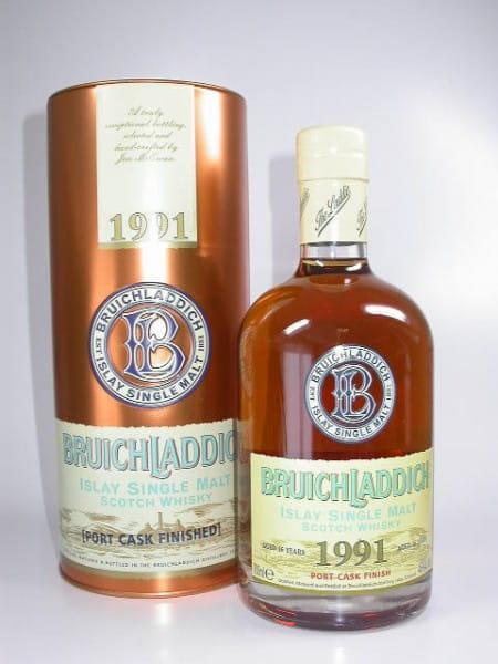 Bruichladdich 16 Jahre 1991/2007 Bourbon/Port 46%vol. 0,7l