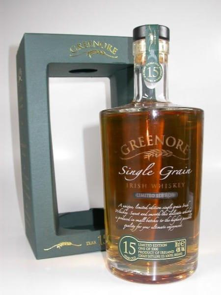 Greenore 15 Jahre Single Grain 43%vol. 0,7l