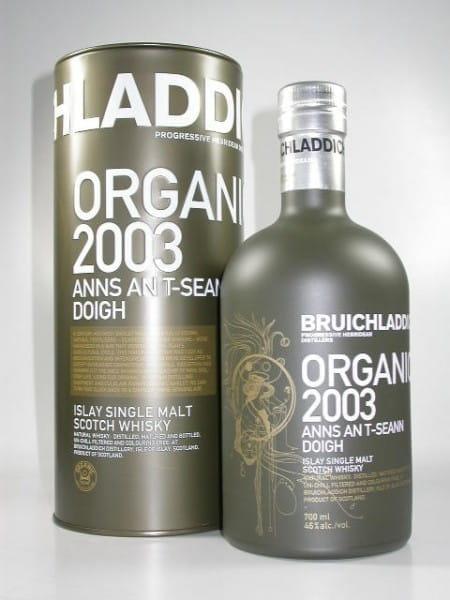 Bruichladdich Organic 2003/2009 46%vol. 0,7l