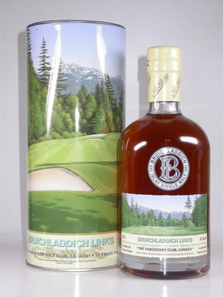 "Bruichladdich Links XI 16 Jahre ""The Vancouver Golf Club, Canada"" 46%vol. 0,7l"