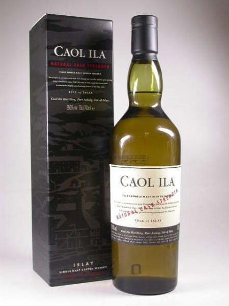 Caol Ila Natural Cask strength 59,3%vol. 0,7l