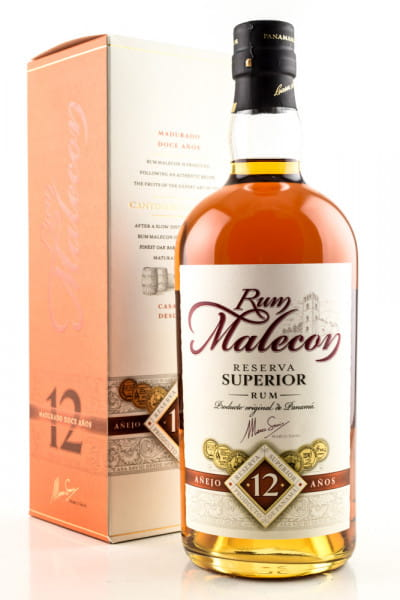 Malecon Reserva Superior 12 Jahre 40%vol. 0,7l