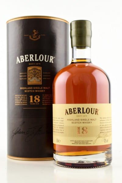 Aberlour 18 Jahre 43%vol. 0,5l
