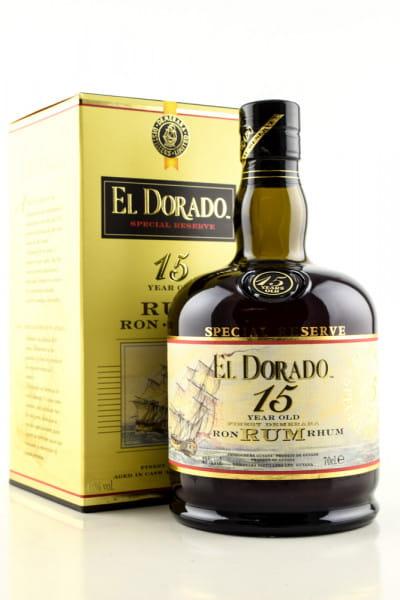 El Dorado 15 Jahre 43%vol. 0,7l