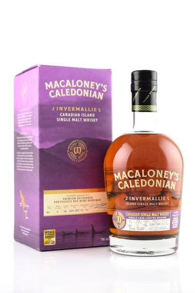 Macaloney's Caledonian Single Malt Invermallie exRed Wine Barrique #56 46%vol. 0,7l