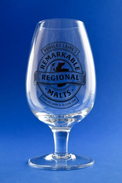 Douglas Laing's Remarkable Regional Malts - Nosing-Glas