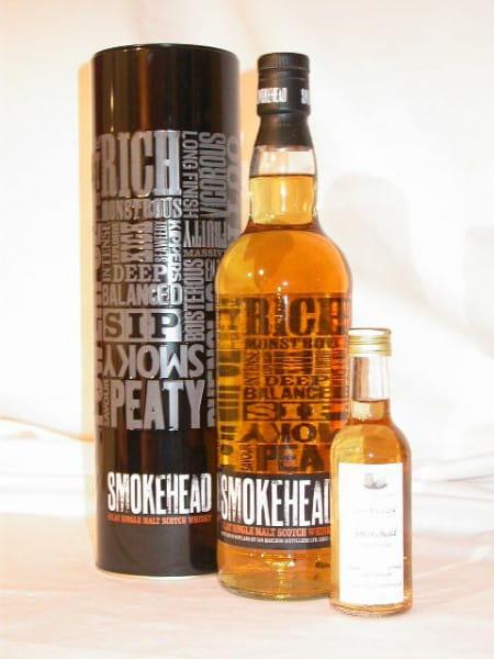 Smokehead (Ardbeg) MacLeod 43%vol. Sample 0,1l