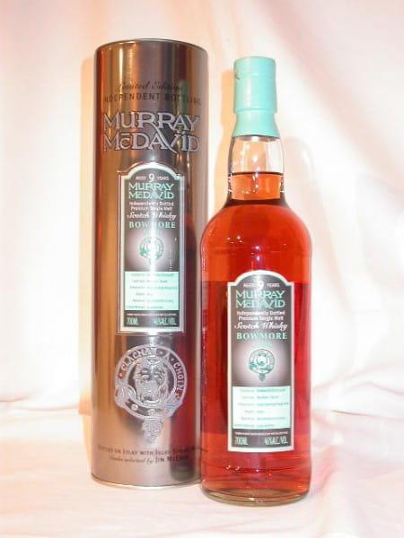 Bowmore 1996/2005 Bourbon/Syrah Murray McDavid 46%vol. Sample 0,05l