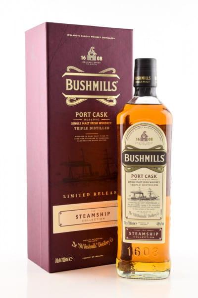 Bushmills Steamship Coll. #2 Port Cask Reserve 40%vol. 0,7l