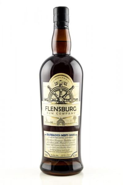 Flensburg Rum Company - Barbados MBFS 2005 62,9%vol. 0,7l