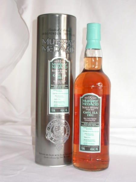Caol Ila 1991/2007 Bourbon/Syrah Murray McDavid 46%vol. 0,7l
