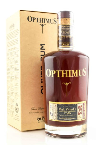 Opthimus 25 Jahre Whisky Finish Rum 43%vol. 0,7l