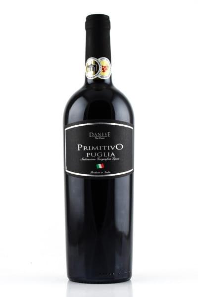 Primitivo Puglia Danese 14%vol. 0,75l