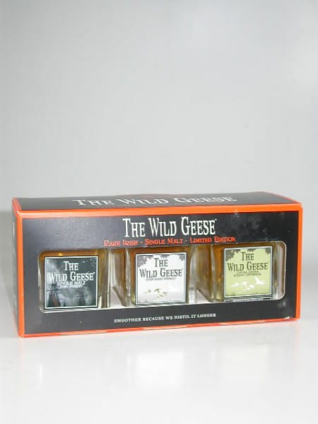 "The Wild Geese ""A Collection of Pure aged Irish Whiskey"" 43%vol. 3x 0,05l"