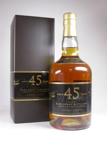 """Glen Grant 45 Jahre """"The Single Malts of Scotland"""" 42,6%vol. 0,7l"""