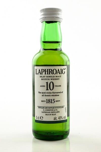 Laphroaig 10 Jahre 40%vol. 0,05l