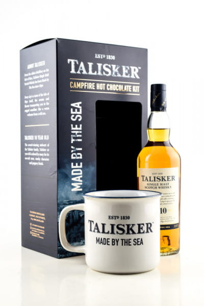 Talisker Campfire Hot Chocolate Kit 45,8%vol. 0,2l