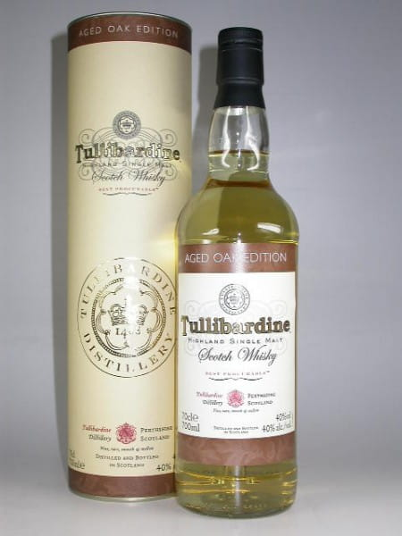 Tullibardine Aged Oak Edition 40%vol. 0,7l
