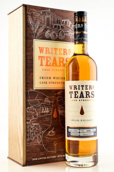 Writers Tears Cask Strength 2018 53%vol. 0,7l