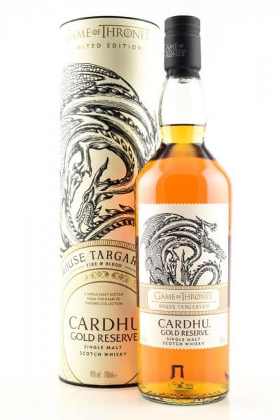 Game of Thrones House Targaryen & Cardhu Gold Reserve 40%vol. 0,7l