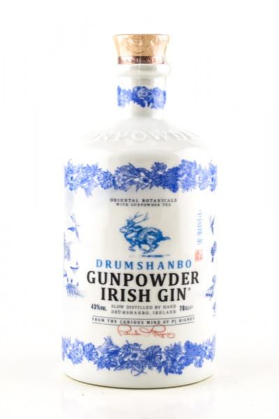 Drumshanbo Gunpowder Irish Gin Ceramic Bottle 43%vol. 0,7l