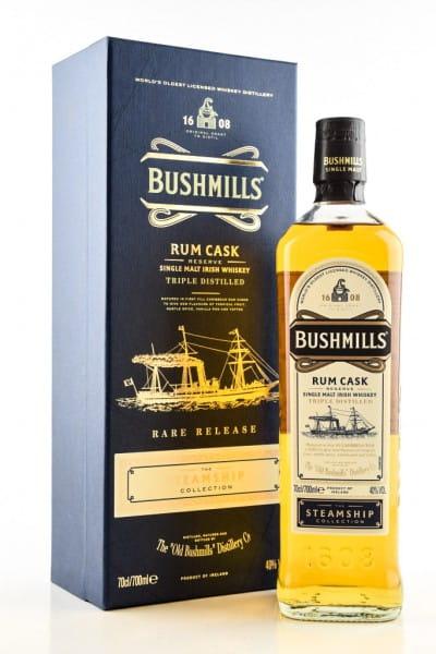 Bushmills Steamship Coll. #4 Rum Cask Reserve 40%vol. 0,7l