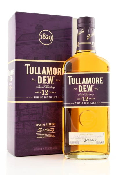 Tullamore Dew 12 Jahre Special Reserve 40%vol. 0,7l