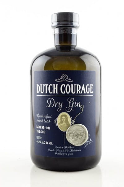 Dutch Courage Dry Gin 44,5%vol. 1,0l