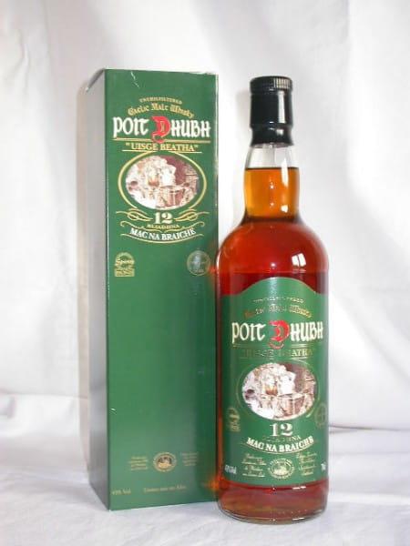 Poit Dhubh 12 Jahre Gaelic Malt Whisky 43%vol. 0,7l altes Design