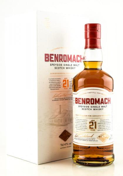 Benromach 21 Jahre 43%vol. 0,7l