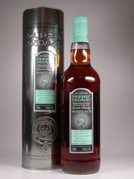 Mortlach 1993/2005 Bourbon/Syrah Murray McDavid 46%vol. 0,7l