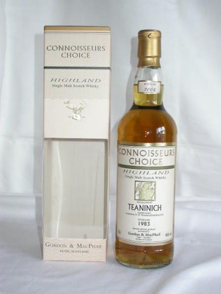 Teaninich 83/04 Gordon & MacPhail Connoisseurs Ch. 46%vol. 0,7l