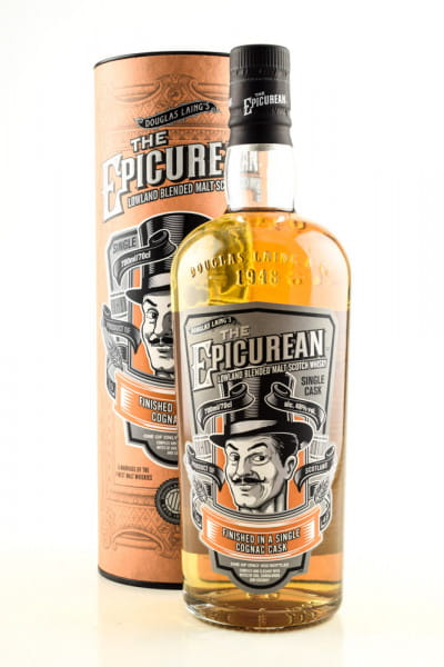 The Epicurean Single Cognac Cask 48%vol. 0,7l