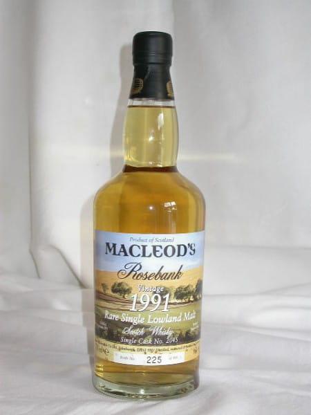 Rosebank 1991/2006 Single Cask MacLeod's 46%vol. 0,7l