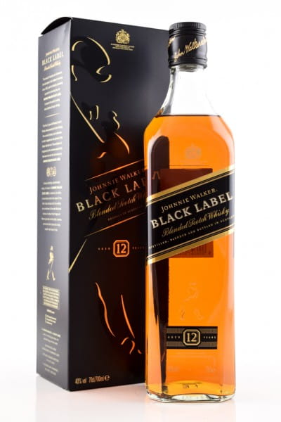 Johnnie Walker Black Label 12 Jahre 40%vol. 0,7l