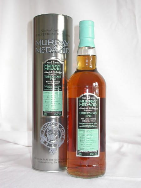 Tobermory 1994/2007 Sherry/Madeira Murray McDavid 46%vol. 0,7l