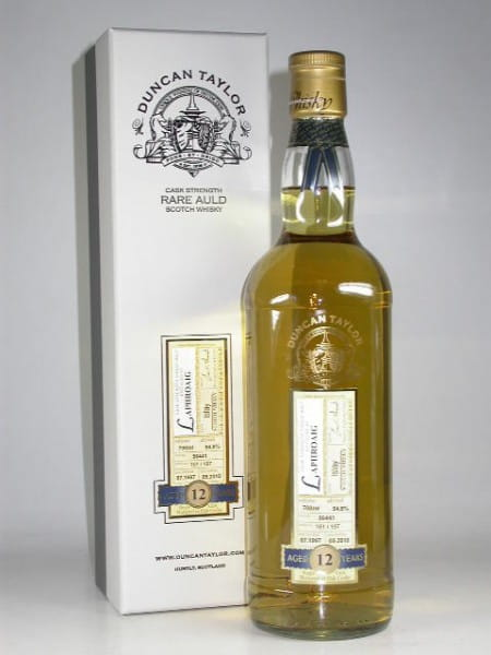 Laphroaig 12 Jahre 1997/2010 Rare Auld Duncan Taylor 54,8%vol. 0,7l