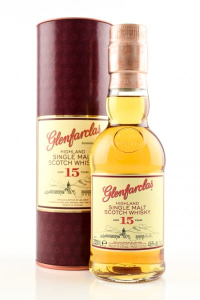 Glenfarclas 15 Jahre 40%vol. 0,2l